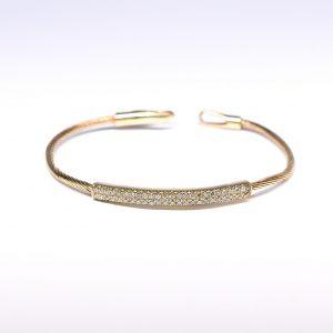 צמיד יהלומים זהב לבן 142564612