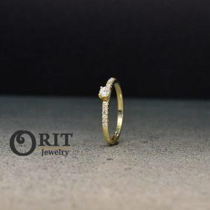 טבעת יהלום J91764688IL