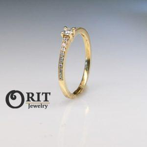 טבעת יהלום R-R14009