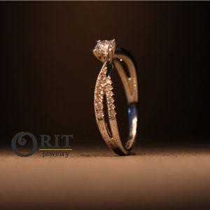 טבעת יהלום – R-R16983