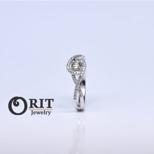 טבעת יהלום – R-R12416