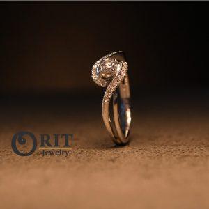 טבעת יהלום R-R12994