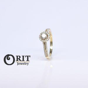 טבעת יהלום – R-R12454