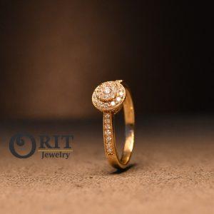 טבעת יהלום R-R17189