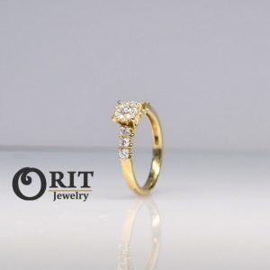 טבעת יהלום R-R17913