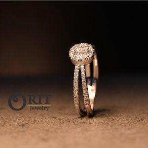 טבעת יהלום R-R5831