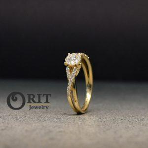 טבעת יהלום R-R16980
