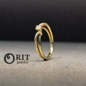 טבעת יהלום R-R15886