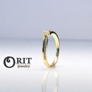 טבעת יהלום- R-R12928
