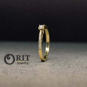 טבעת יהלום- R-R14939