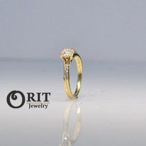 טבעת יהלום- R-R15897