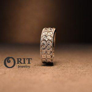 טבעת יהלום 105971