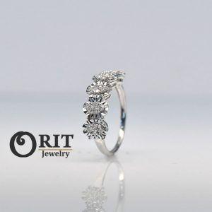 טבעת יהלום 107981