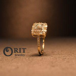 טבעת יהלום 109911