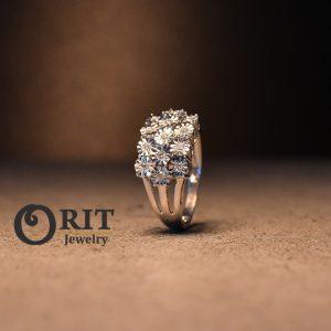 טבעת יהלום 104063