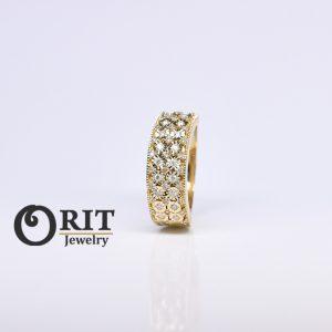 טבעת יהלום 106518
