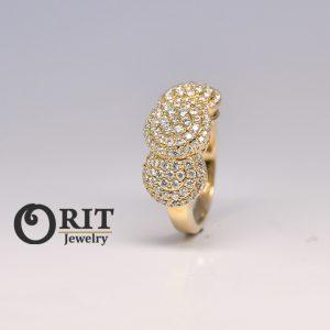 טבעת יהלום 111383