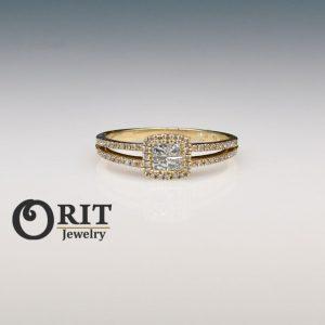 טבעת יהלום 90378
