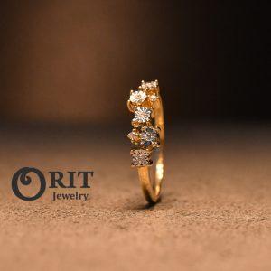 טבעת יהלום 103532