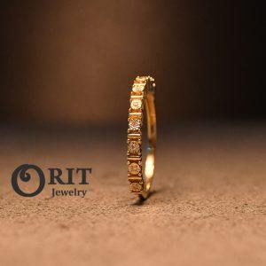 טבעת יהלום 101265