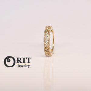 טבעת יהלום 98204