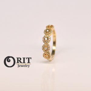 טבעת יהלום 97091