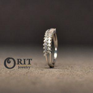 טבעת יהלום 101711