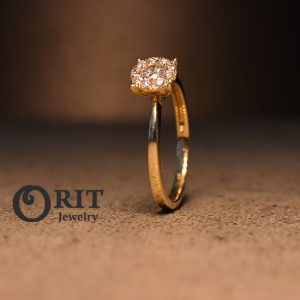 טבעת יהלום 92999