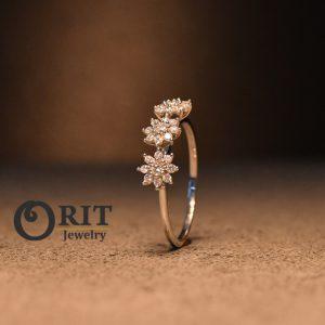טבעת יהלום 95591