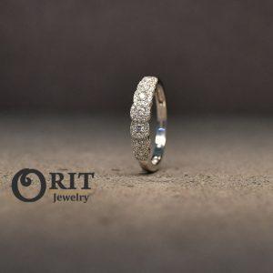 טבעת יהלום 85866