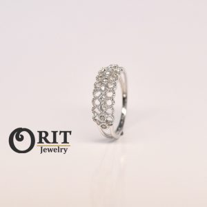 טבעת יהלום 95637