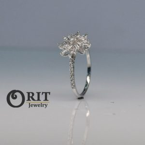 טבעת יהלום 97285