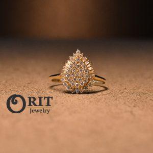 טבעת יהלום 96074