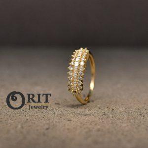 טבעת יהלום 93494