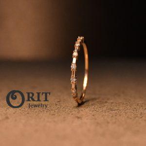 טבעת יהלום 93581