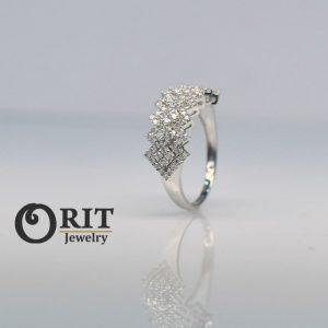 טבעת יהלום 93370