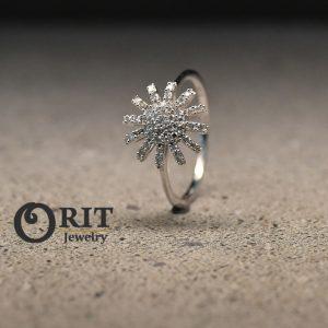 טבעת יהלום 88222