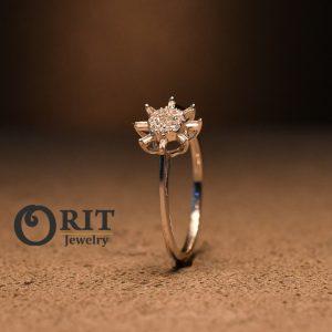 טבעת יהלום 88226