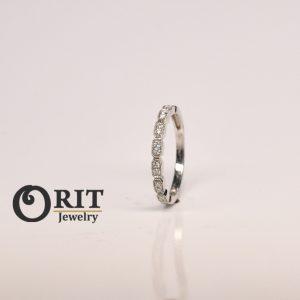 טבעת יהלומים 86425