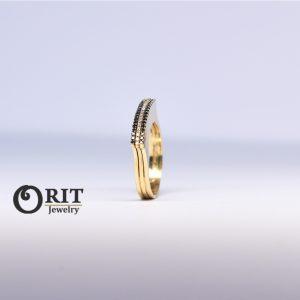טבעת יהלום 100745010