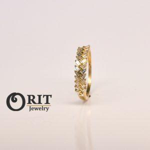 טבעת יהלום 101716