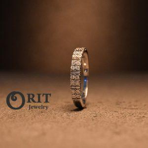 טבעת יהלום 96936