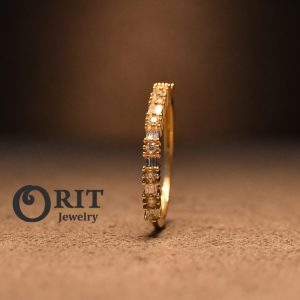 טבעת יהלום 93673