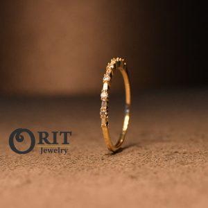 טבעת יהלום 93563