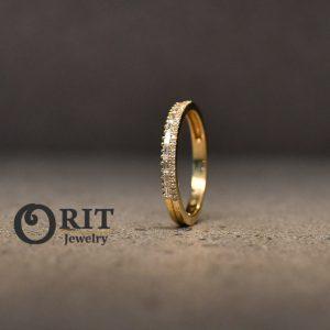 טבעת יהלום 91998