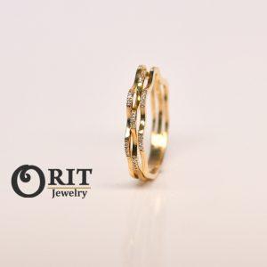 טבעת יהלום 91563