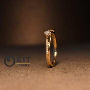 טבעת יהלום 83562