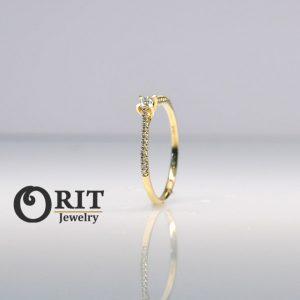 טבעת יהלום 83452