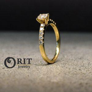 טבעת יהלום 35139 R-R15894