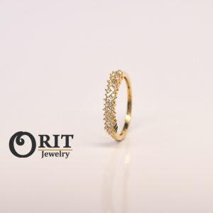 טבעת יהלום 101573